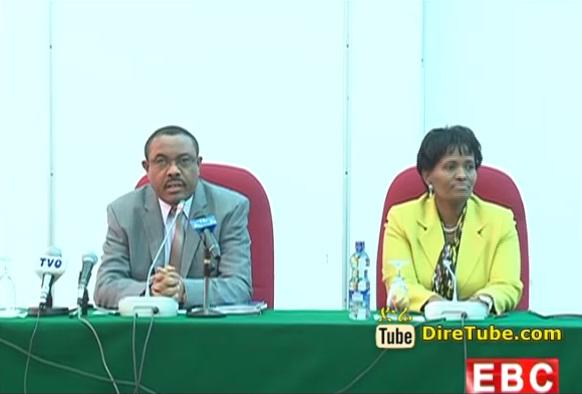 The Latest Amharic Evening News From EBC Nov 24, 2014
