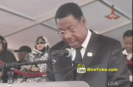 President of Benin & AU Chairperson Speaks at Meskel Square