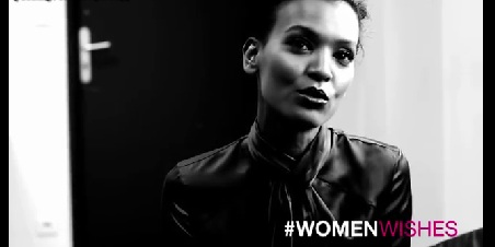 Liya Kebede With her Women Wishes Presented by L'Oreal Paris and Maria Claire