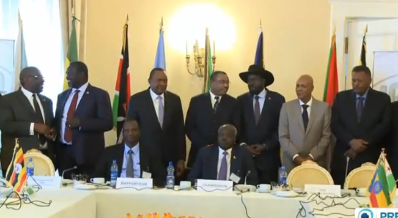 South Sudan's Warring sides sign fresh Ceasefire deal in Ethiopia