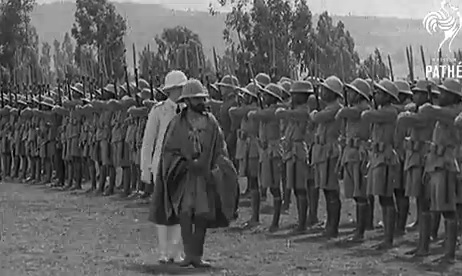 King Of Abyssinia Ethiopia (1935)