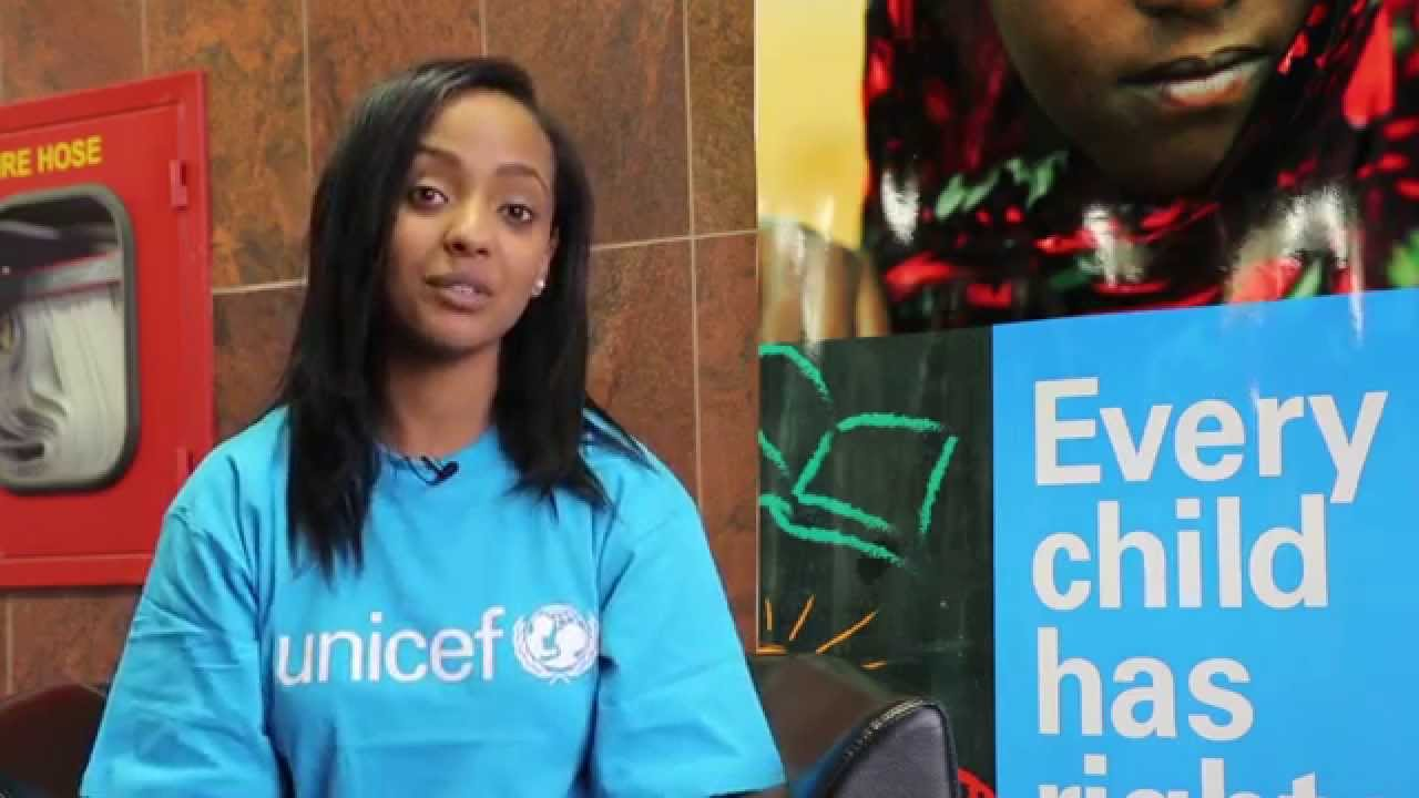 UNICEF Ethiopia Appoints young rap star Abelone Melese as its New National Ambassador