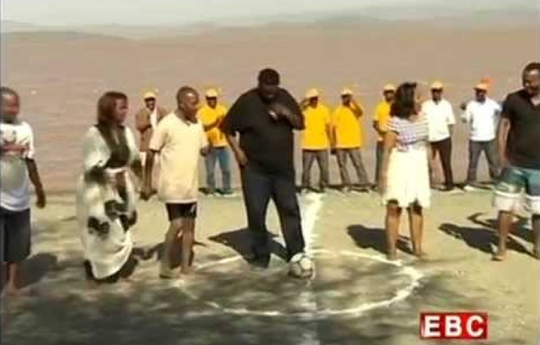 Ethiopian Christmas Special - Beach Football between Journalists and Artists