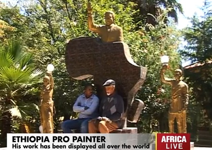 Ethiopia's pro painter : Lemma Guya talks on his life's work