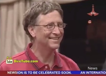 Bill Gate Has Arrived in Ethiopia