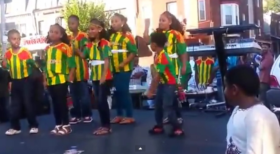 Ethiopian Community in Philadelphia Celebrating Ethiopian Day