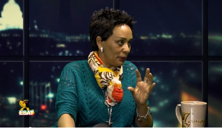 Tamagn show - Artist Bezawork Asfaw Talks About Her Life's Work