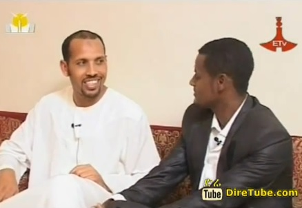 Eid Celebration With Ethiopian Football Player Mohammed King