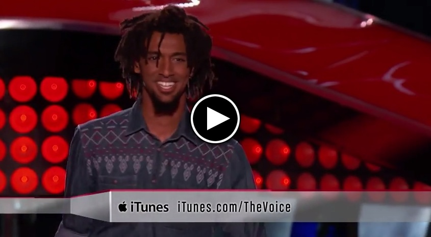 The Voice 2014 Blind Audition - Menlik Zergabachew