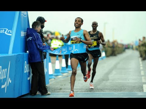 Kenenisa Bekele and Priscah Jeptoo Take Wins in Great North Run 2013