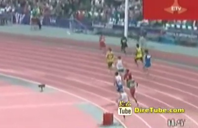 Ethiopian Athlete competing at Paralompic in 800M failed to Qualify