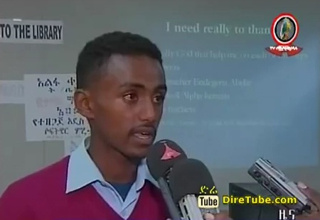 Amazing 15 Years Ethiopian Teenager Develop Educational Software