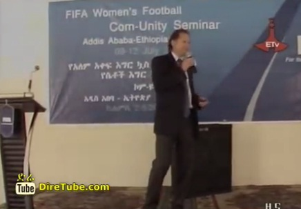 FIFA women's football com-unity seminar in Ethiopia