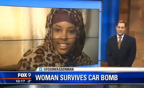 Ethiopian Woman visiting her Father in Ogaden survives a bomb attack