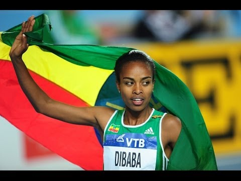 Genzebe Dibaba 3:55.17 Smashes 1500m World Indoor Record indoor