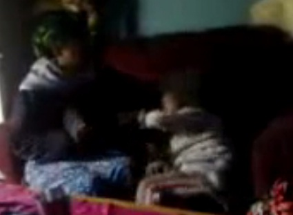 Amateur Video - Little Girl Getting abused by an Ethiopian Woman