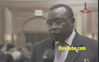 Reaction of Diplomats in Addis on the Death of the PM