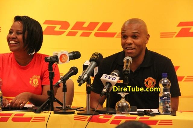 Manchester United Legend Quinton Fortune Visit Ethiopia