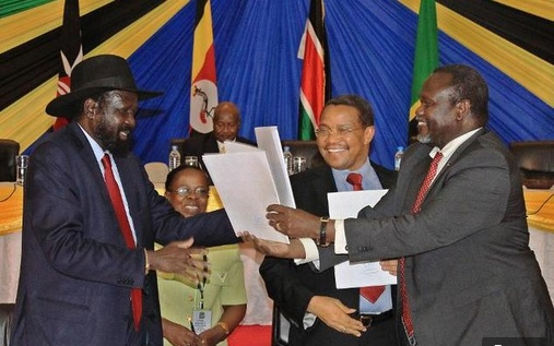 South Sudan rivals meet for peace talks in Ethiopia
