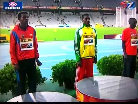 Muktar Edris wins 5000 Metres Men at Barcelona 2012