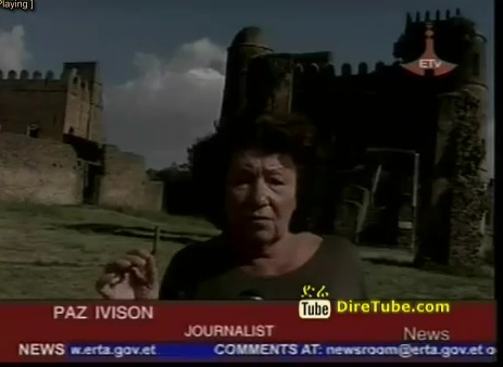 Tourists from Spain Visit Axum, Lalibela, gonder and Barhir Dar