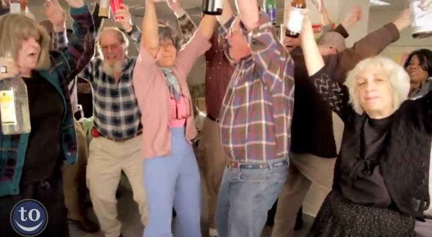 Hilarious Compilation Of Elderly People Dancing