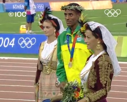Athletics - Men's 10000M - Athens 2004 Summer Olympic Games