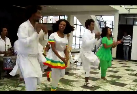 Ahun Traditional Dance @ Addis Ababa University