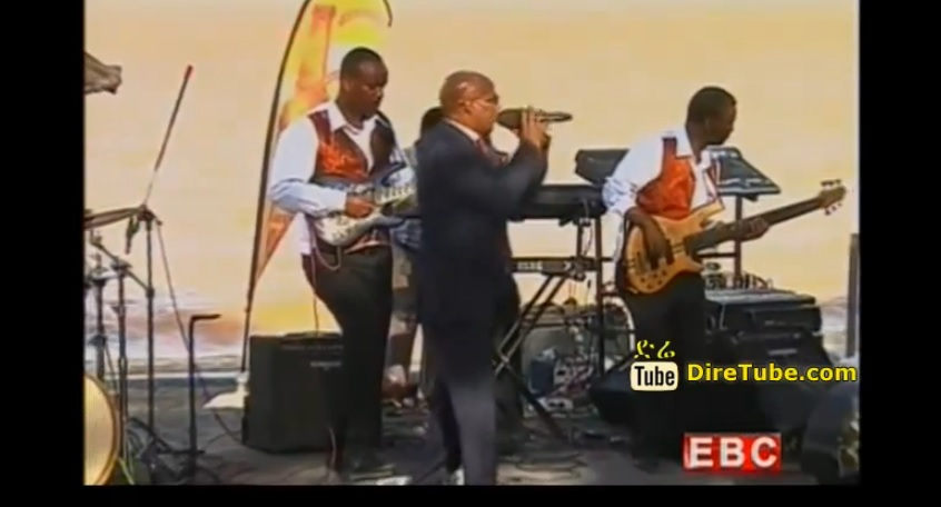 Performing Live Zemnanit (ዘምናኒት) on Ethiopian Christmas 2007