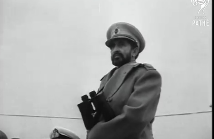 Navy Escorts Haile Selassie (1954)