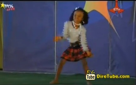 Baby Girl Dance Contestant from Jijiga