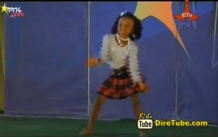 Baby Girl Dance Contestant from Jijiga