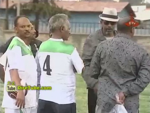 Ethiopian Gov't Officials Vs Ethiopian Artists Football
