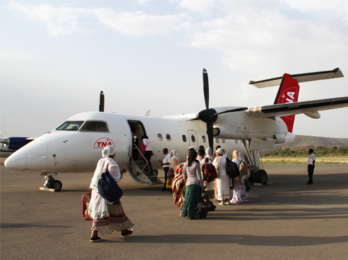 Trans Nation Airways Started flying to BahirDar, Gondor and Humera