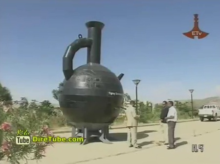 Ethiopian Largest Coffee Pot Registered at Guinness World Records