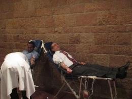 Egyptian Ambassador Donates Blood