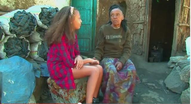 Dina Matheussen (Ethio-Norwegian teenage with a big heart)