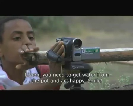 Young Tewodros Melaku on Short Film Festival - Asatfugn