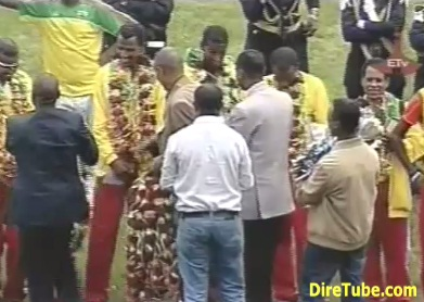 A Hero's Welcome to Ethiopian Team at National Stadium