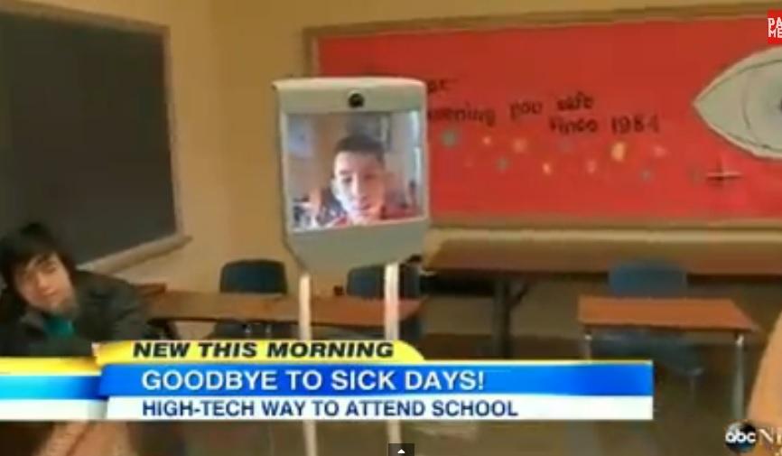 Goodbye to Sick Days - Robot Avatar