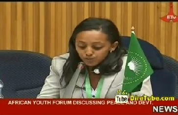 African Youth Forum Discussing Peace and Dev't
