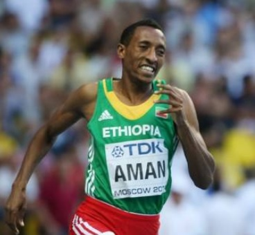 Mohammed Aman Takes Gold in Men's 800m Final