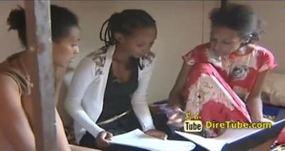 Shewaye Serka Tells about her Life Work's @ University