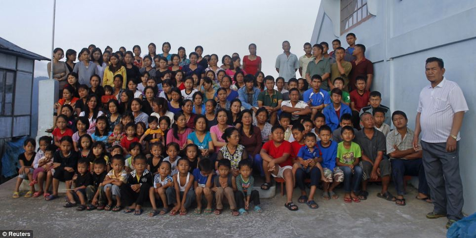 Man has 39 wives, 94 children and lives in a 100-room house