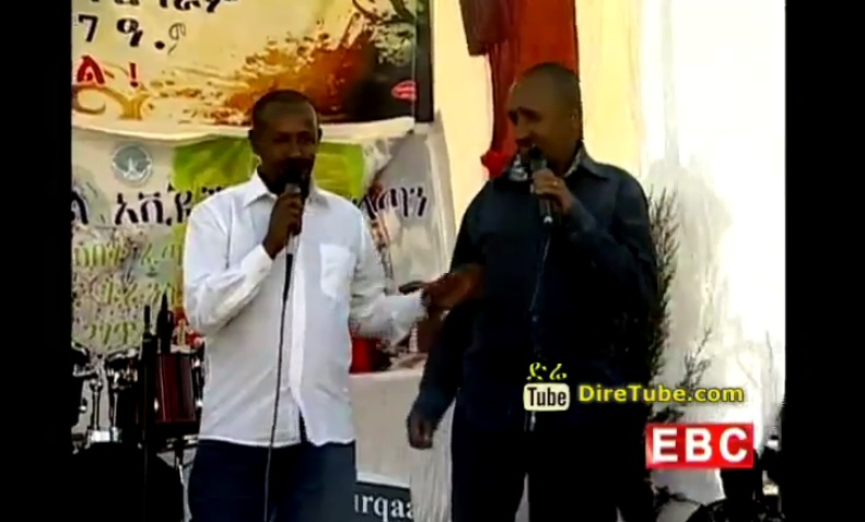Filfelu & Hakim Adenew Funny Stand Up Comedy | Timket 2007