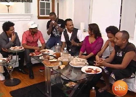 Enechewawet - Funny Holiday Special Interview with Ethiopian Artists in USA - Part 2