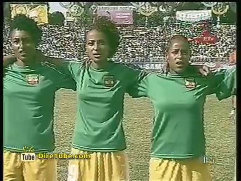 Ethiopian Women Football Team and Tanzania's will play today