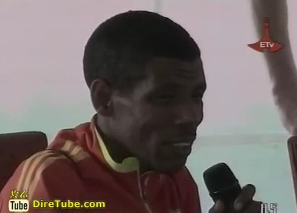 Interview with Haile Gebreselassie (Mr. Hengelo) After failing 10,000 Olympic Bid