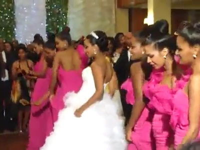 Etsehiwot Abebe's (Malda of Gemena2) Amazing Dance on Her Wedding