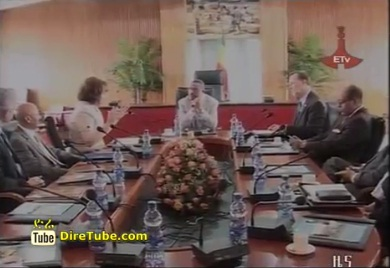 Hailemariam holds talks with US delegation